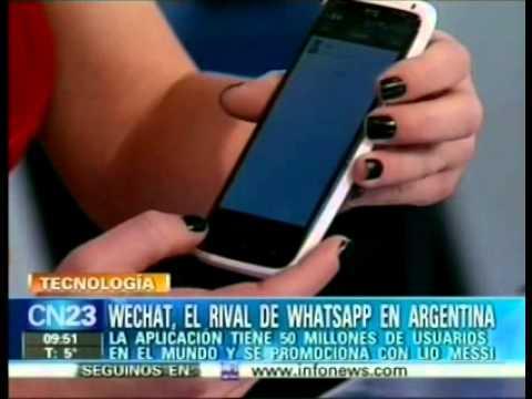 WeChat, el rival de WhatsApp en Argentina