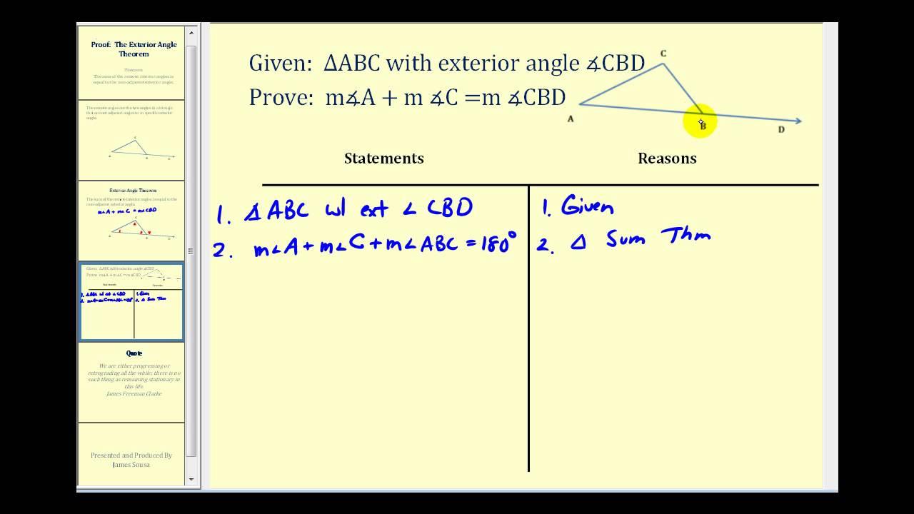 Alternate Interior Angles And Alternate Exterior Angles Alternate Exterior Angles in