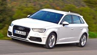 Am Start: Audi A3 Sportback   Motor mobil videos