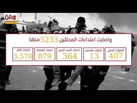 16 شهيداً وآلاف الجرحى.. حصيلة اعتداءات الاحتلال خلال هبة العاصمة