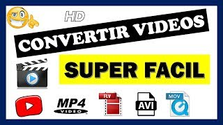 Como Convertir Vídeos A Cualquier Formato (3gp, Mp4, Avi