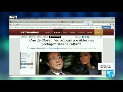 Relation entre François Hollande et l'actrice Julie Gayet - Un œil sur les medias - 10/01/2014