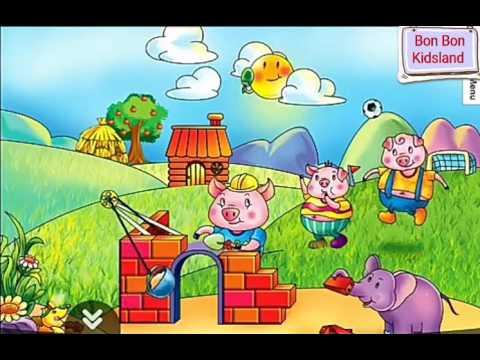Kể chuyện cho bé: ba chú lợn con