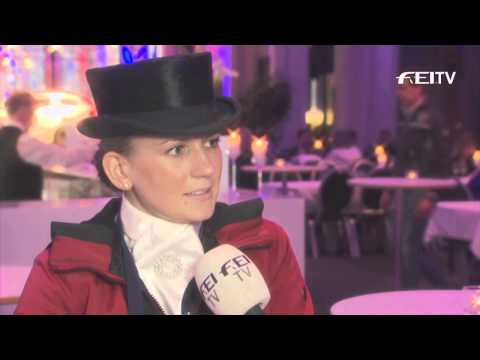 Reem Acra FEI World Cup™ Dressage 2013/14 - Göteborg - Nanna Skodborg Merrald