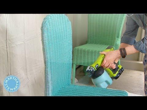Ask Martha Spray Painting Wicker Chairs Martha Stewart