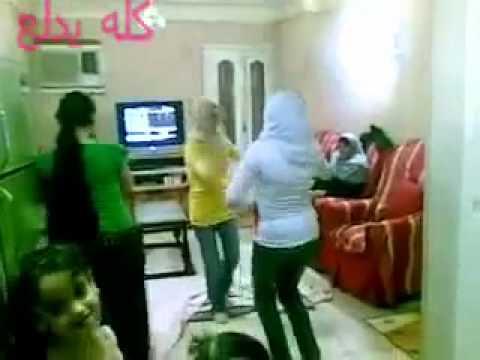 رقص محجبه  - bnat el hijab nayda