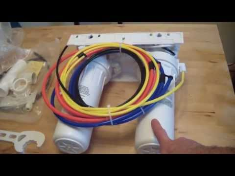How To Install A Reverse Osmosis Water Filter System