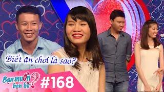 BẠN MUỐN HẸN HÒ | Tập 168 UNCUT | Văn Linh - Nguyễn Thư | Tuấn Anh - Hải Yến | 160516 💏