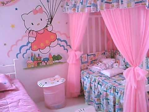 cuarto de hello kitty youtube