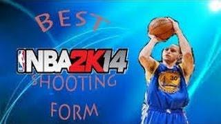 NBA2k14 Next-Gen Best Shooting Forms & Quickest Releses