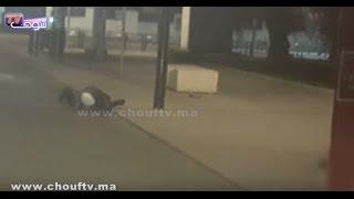 زوج شواذ شدو سكايري فشارع الحسن الثاني فكازا قتلوه بالعصا (فيديو)   بــووز