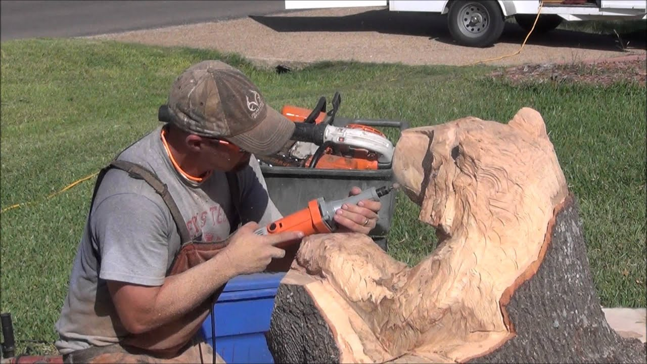 how to cut a tree stump without a chainsaw