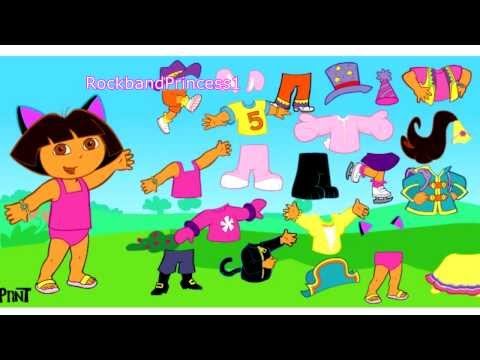 Dora The Explorer Games Online Dora Costume Game
