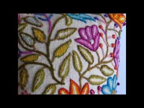 Cojines Bordados a Mano - Craft cushions