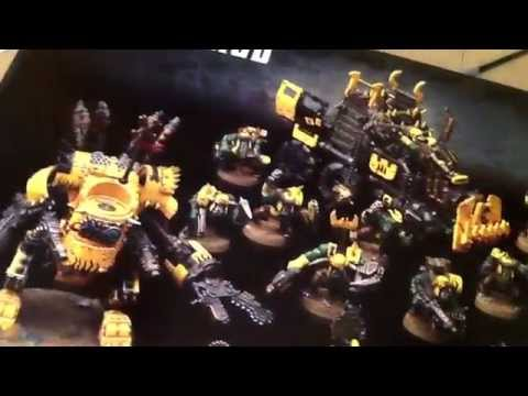 Space marine.  Stormclaw  and ork update