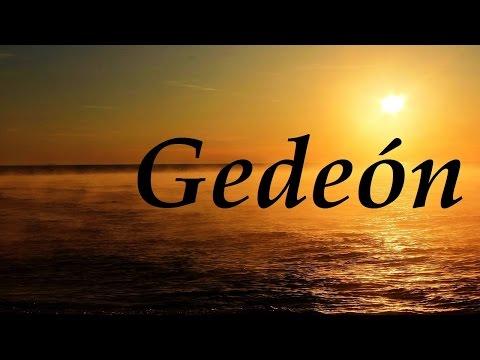 Gedeón, significado y origen del nombre