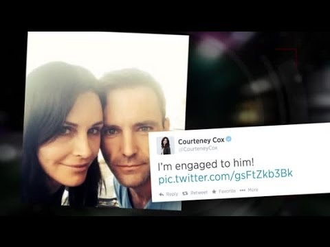 Courteney Cox Reveals Engagement to Johnny McDaid