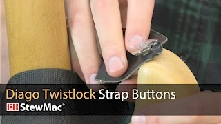 Watch the Trade Secrets Video, Diago Twistlock Secure Strap Buttons Video