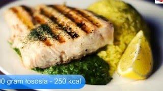 Ile kalorii mają potrawy z grilla?
