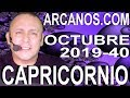 Video Horóscopo Semanal CAPRICORNIO  del 29 Septiembre al 5 Octubre 2019 (Semana 2019-40) (Lectura del Tarot)