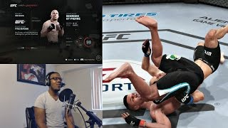 EA Sports UFC PS4 Career Mode Gameplay FACECAM - Serious Trouble!! Ep. 34