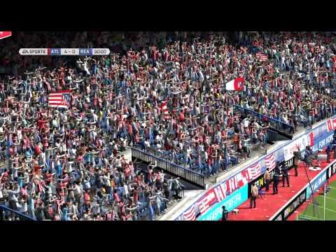 Golaço de Tiago! (Atlético Madrid)