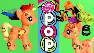 My Little Pony Pop AppleJack Starter Kit Build Your Ponies