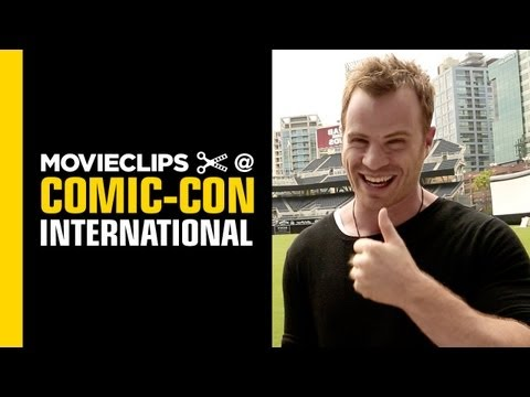 Comic-Con: Rob Kazinsky Interview (2013) - with Alison Haislip HD