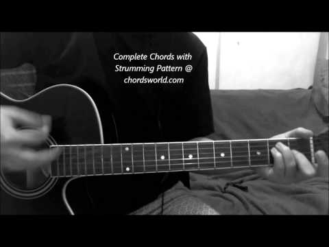 Magic Chords by Coldplay - How To Play - chordsworld.com