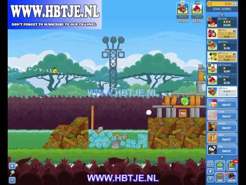 Angry Birds Friends Tournament Level 6 Week 90 (tournament 6) no power-ups