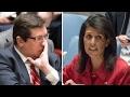 US, Russian ambassadors spar at UN Security Council meeting