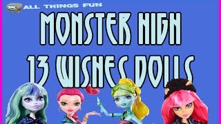 Monster High 13 Wishes Dolls Meet Howlleen Wolf, Gigi