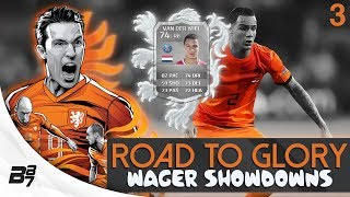 ROAD TO GLORY WAGER MATCHES NETHERLANDS | VAN DER WIEL #3 | FIFA 14 UT