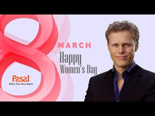 AJ Hoge chúc mừng ngày quốc tế phụ nữ 8 -3