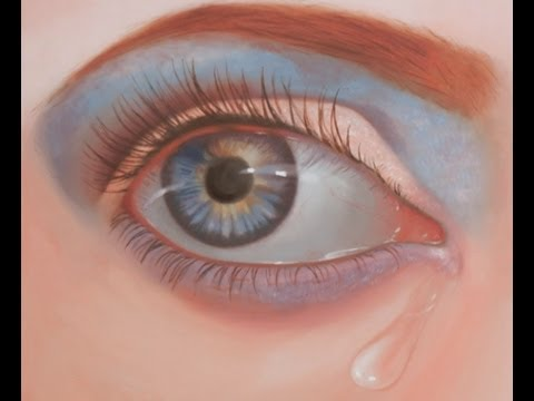 How to Paint an Eye, speed painting