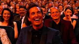 Kimmel Ribbing MacConaughey Emmys 2014