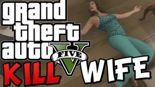 GTA 5 How To KILL Your WIFE AMANDA (Funny Moments