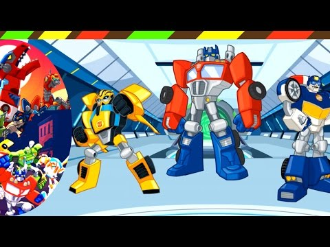 Transformers Rescue Bots: Disaster Dash - Hero Run 03 | Game Robot Khủng Long biến hình #03