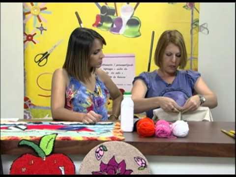 Mulher.com 18/09/2012 - Tapente infantil com agulha mágica 1-2