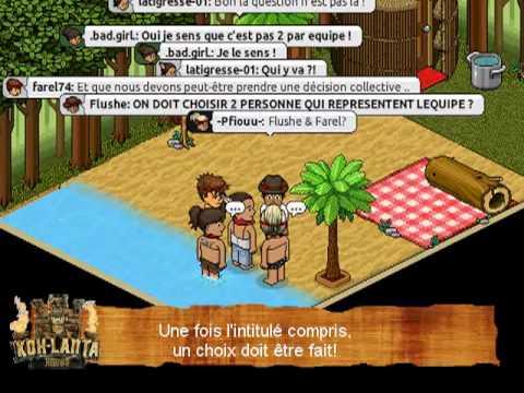 Habbo.fr - Koh-Lanta - Emission n°1