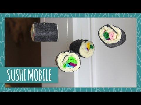 Sushi Mobile- HGTV Handmade