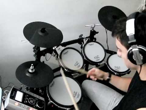 how to play bad bad news on drums