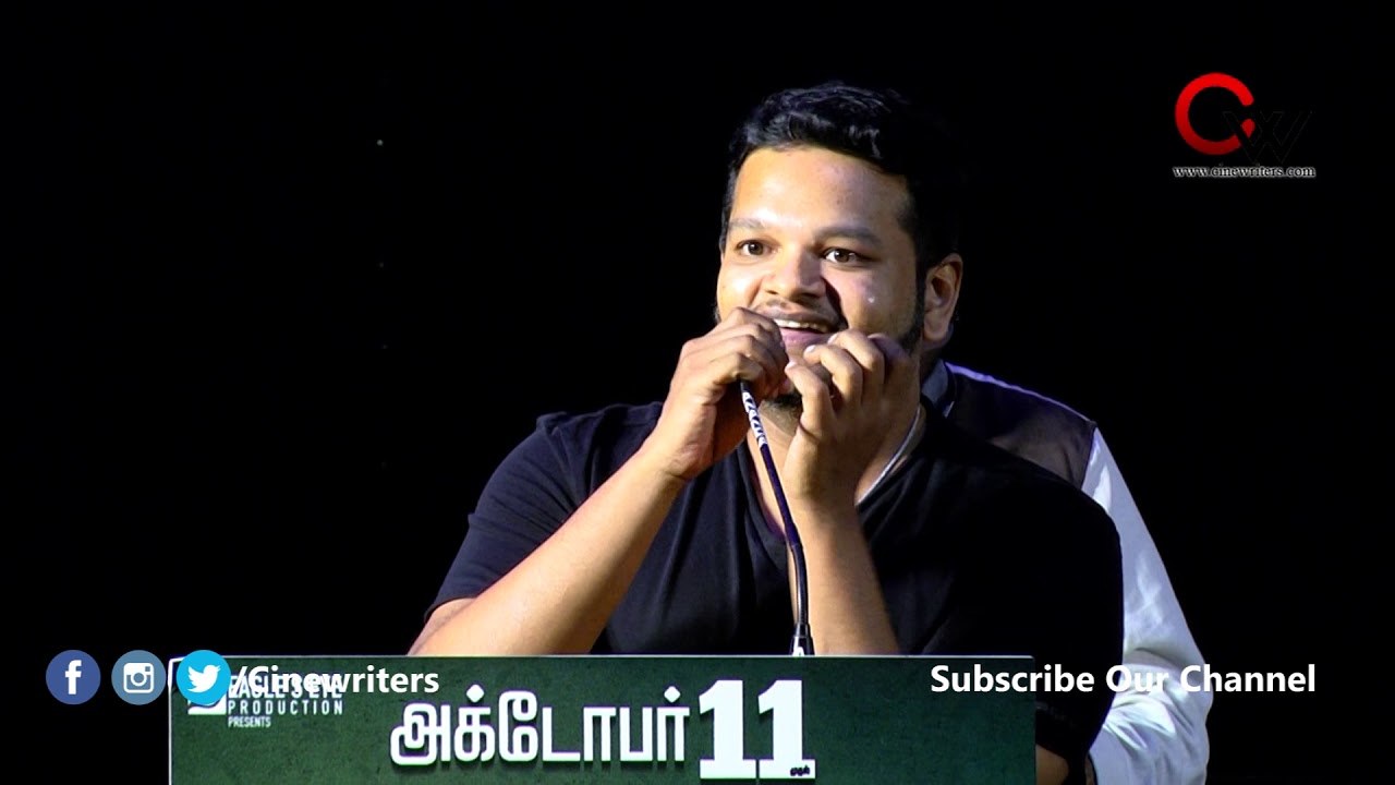 Ghibran Speech at Petromax Press Meet|Tamannaah | Yogi Babu | Ghibran | Rohin Venkatesan