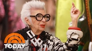 96-Year-Old Fashion Icon Iris Apfel: Ripped Jeans Are 'Insanity' | TODAY