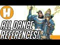 ALL Overwatch Dance References Side by Side Comparison and Sources Hammeh