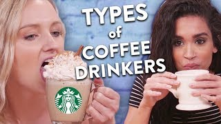 3 Types of Coffee Drinkers