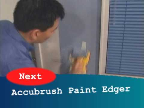 How to Quickly Cut in Paint around Windows, Doors, and Ceilings