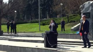 Liuba Ilovan cuvîntează pe #MoldoMaidan în #PMAN