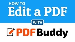 How To Edit PDF Files Online PDF Buddy