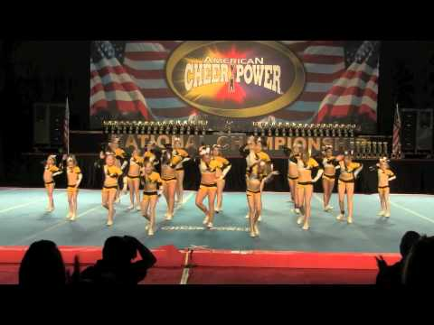 Champion Allstars Junior level 2 Cheer Power April 2, 2011 Columbus Ohio